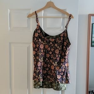 Reversible Camisole/Tank Top - Recycled Saris